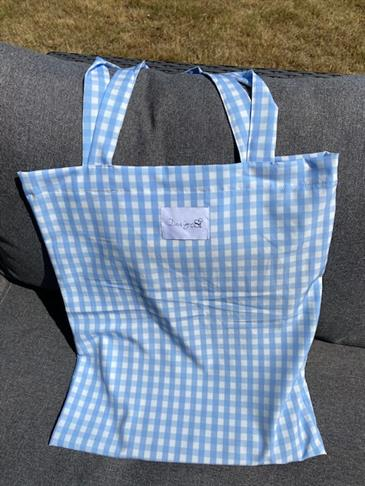 Designby Si tote bag - Blue
