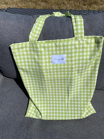 Designby Si tote bag - Green