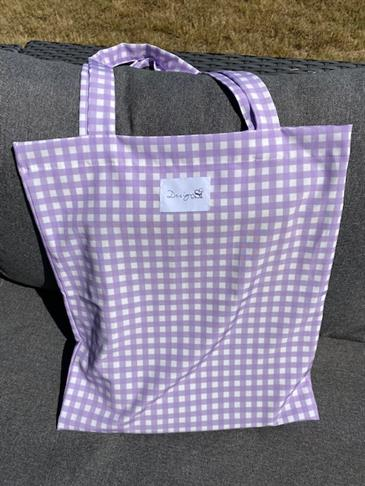 Designby Si tote bag - Purple