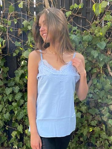 Rochelle top - light blue
