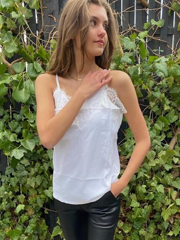 Rochelle top - white