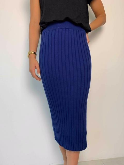 Mikala skirt blue