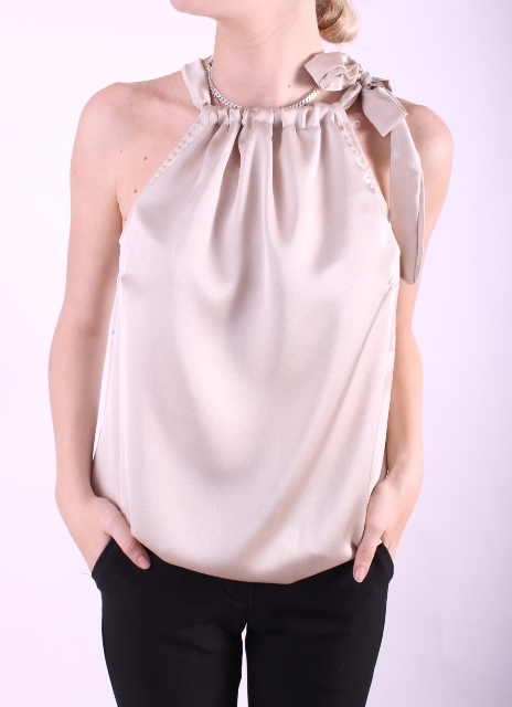 Carie top beige