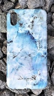 iPhone cover blue marble